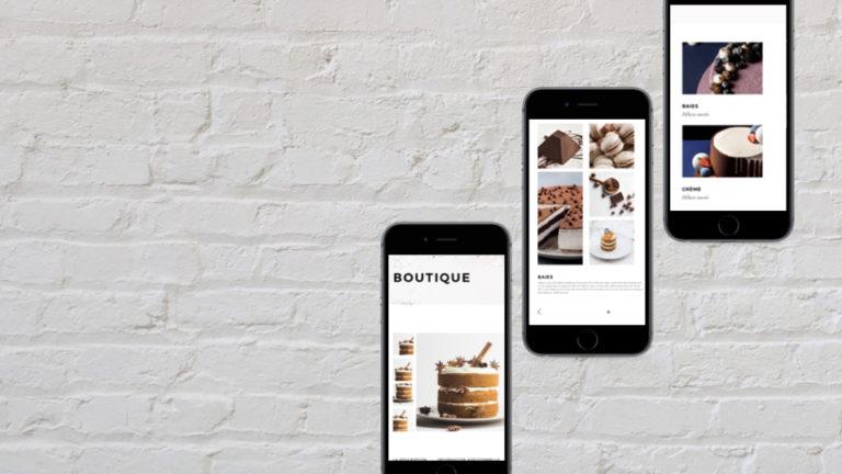 Boutique en ligne pour vendre en direct des pâtisseries, gâteaux, et autres spécialités