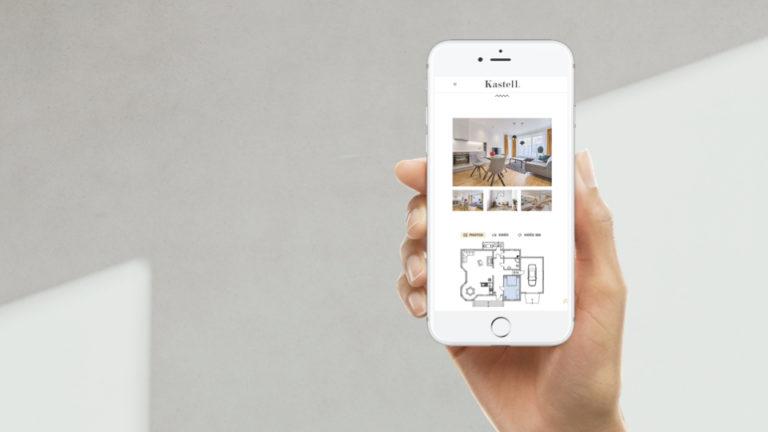 Site web de projet de ven immobilier neuf